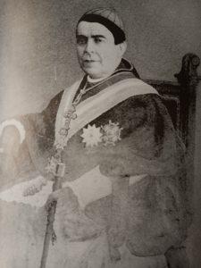 Antonio Ibáñez Galiano (el Cura Ibáñez) Obispo de Teruel y primer sacerdote de Raspay